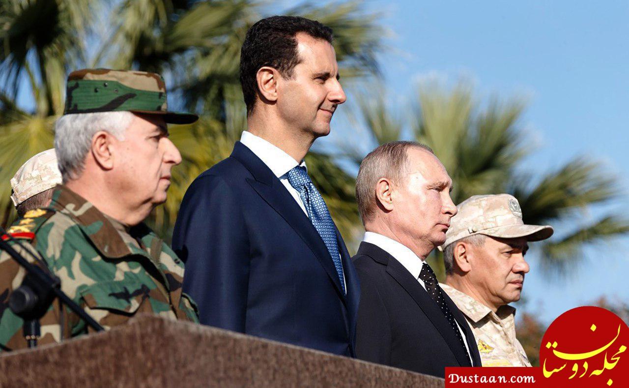 www.dustaan.com خواب 350 میلیارد دلاری رئیس جمهور روسیه برای سوریه