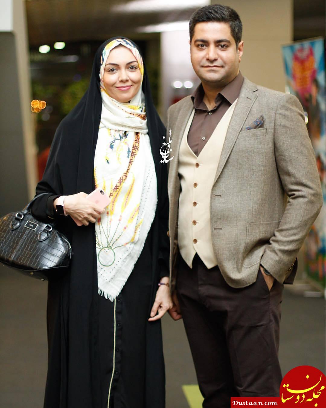 www.dustaan.com مجله اینترنتی فال روزانه حافظ 1558716423 - بیوگرافی و عکس های جذاب آزاده نامداری ، همسرش سجاد عبادی و دخترش گندم