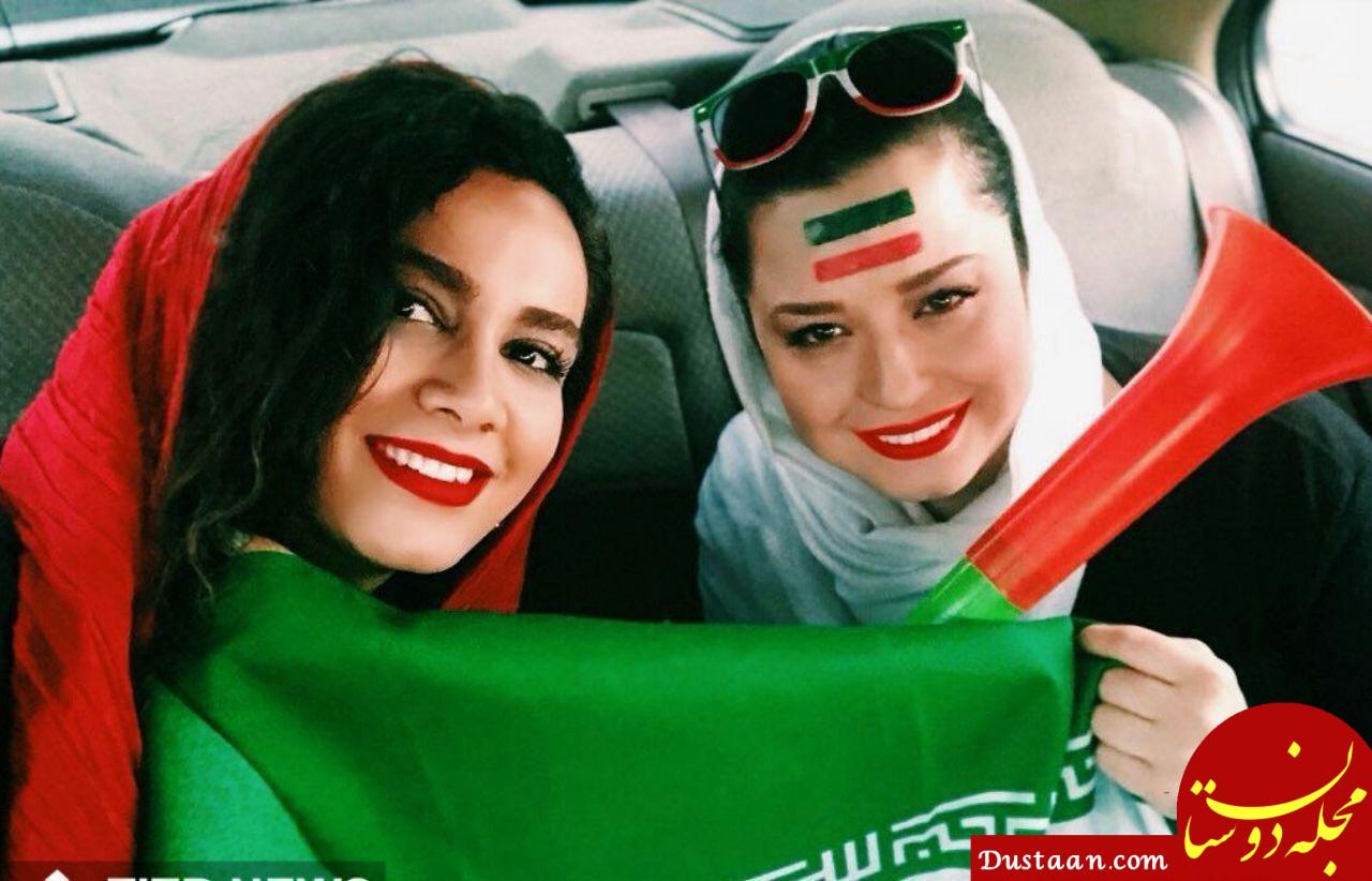 www.dustaan.com بیوگرافی و عکس های جذاب مهراوه و ملیکا شریفی نیا