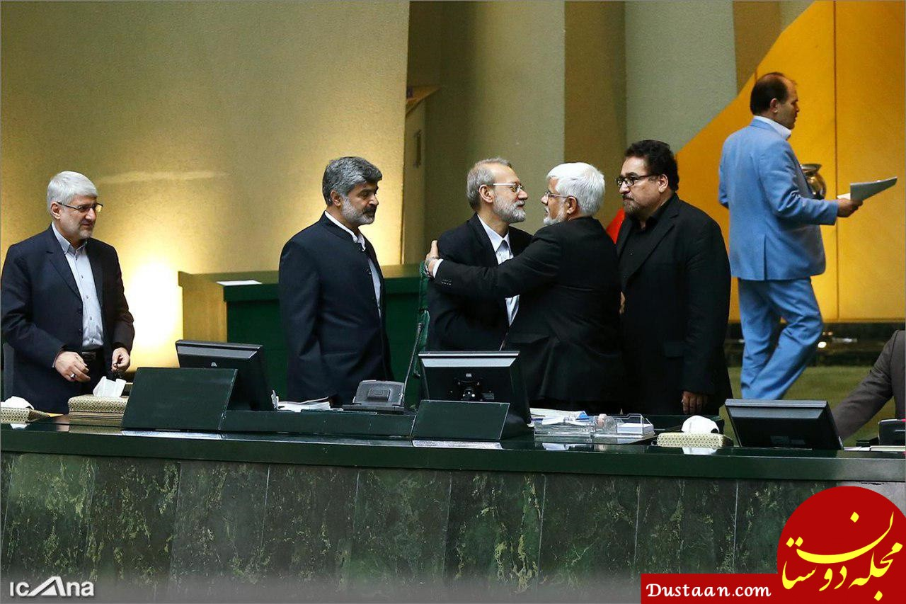 www.dustaan.com لاریجانی برای دوازدهمین سال پیاپی رئیس مجلس شد
