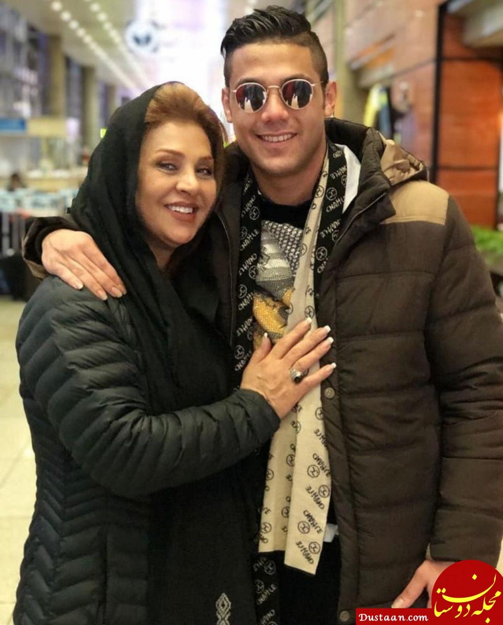 www.dustaan.com بیوگرافی و عکس های نسرین مقانلو ، همسرش کمال خلیلیان و پسرانش عرشیا و آرین