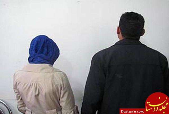 www.dustaan.com داماد و مادرزن پلید در نازی آباد دستگیر شدند