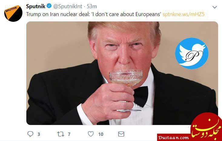 www.dustaan.com نظر ترامپ درباره برجام: اروپاییها برایم مهم نیستند