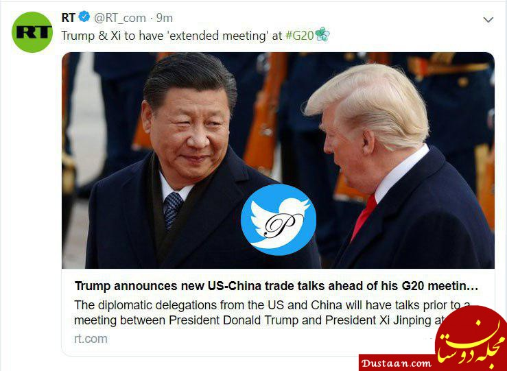 www.dustaan.com دیدار روسای جمهور آمریکا و چین در ژاپن