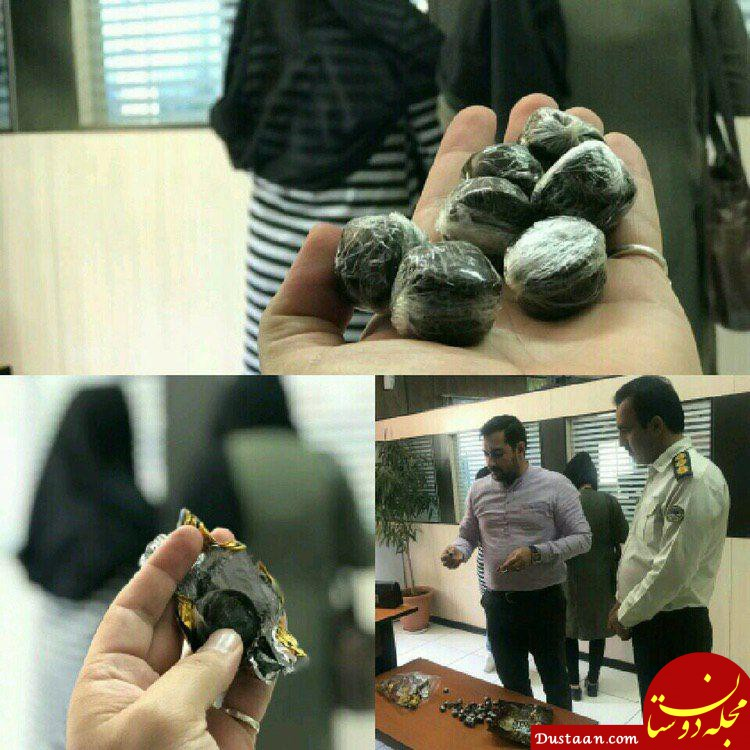 www.dustaan.com کشف تریاک در پوشش پشمک شکلاتی! +عکس