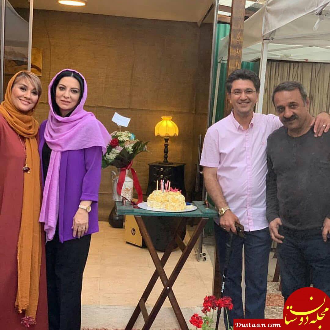 www.dustaan.com عکس های دیدنی از تولد ۵۲ سالگی حمیرا ریاضی در کنار همسرش
