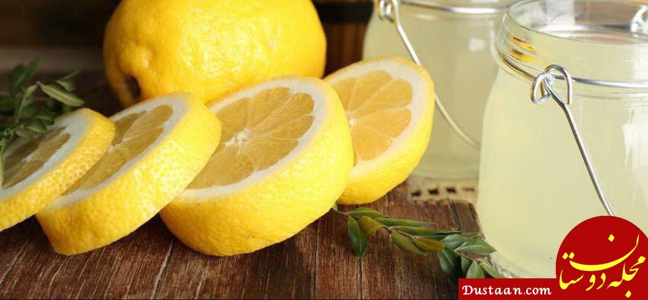 www.dustaan.com نحوه گرفتن تلخی آب لیمو تازه