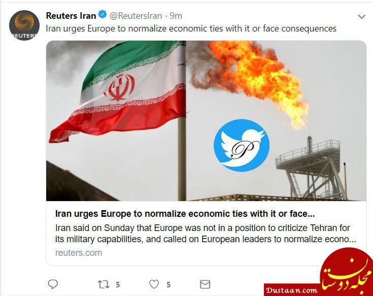 www.dustaan.com هشدار ایران به اروپا +عکس