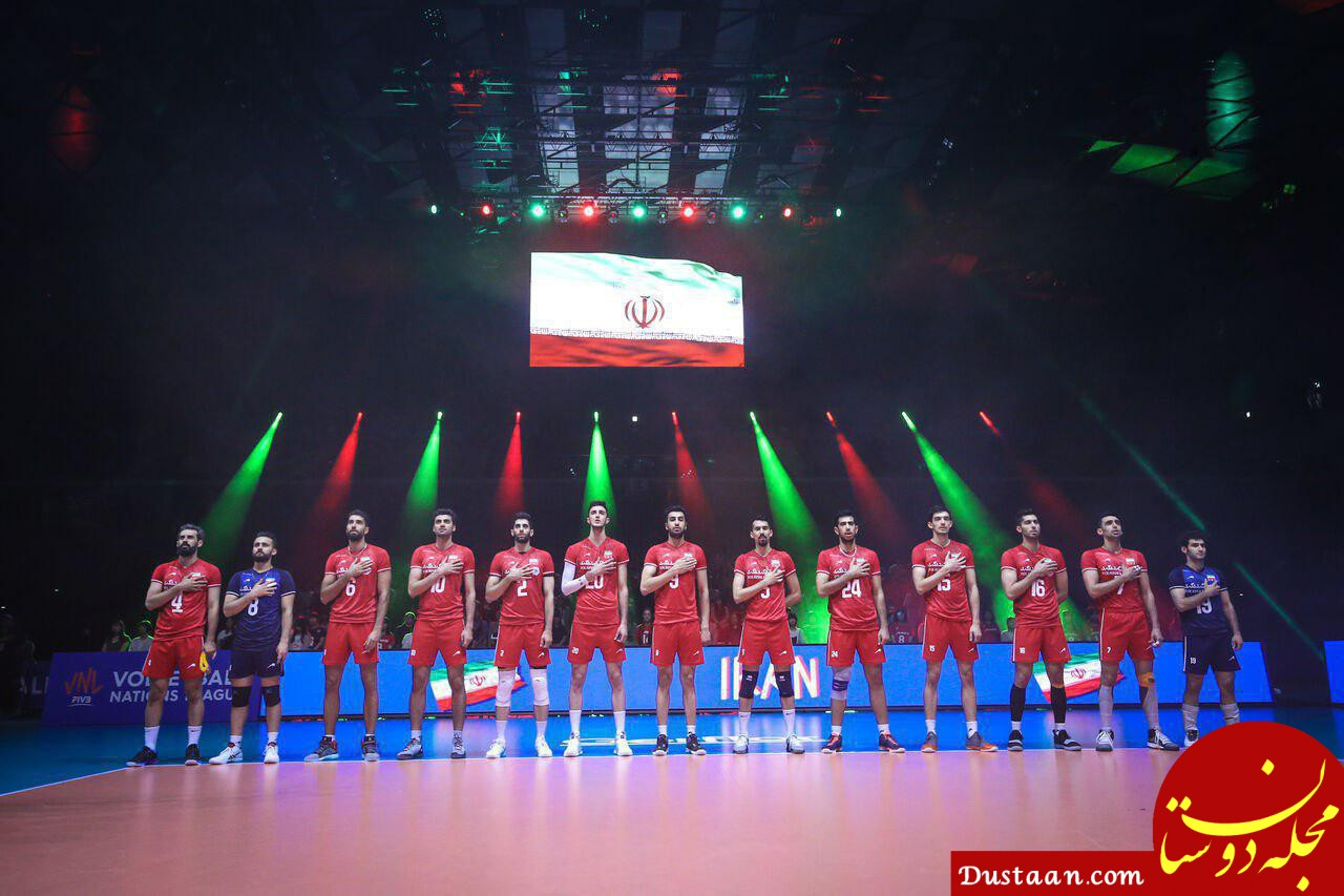 www.dustaan.com پاداش 49 هزار دلاری برای تیم ملی والیبال ایران