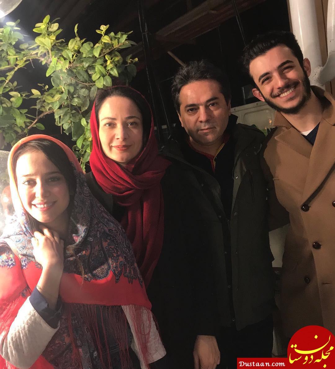 بیوگرافی و عکس های دیدنی نسرین نصرتی ،همسر و دخترش