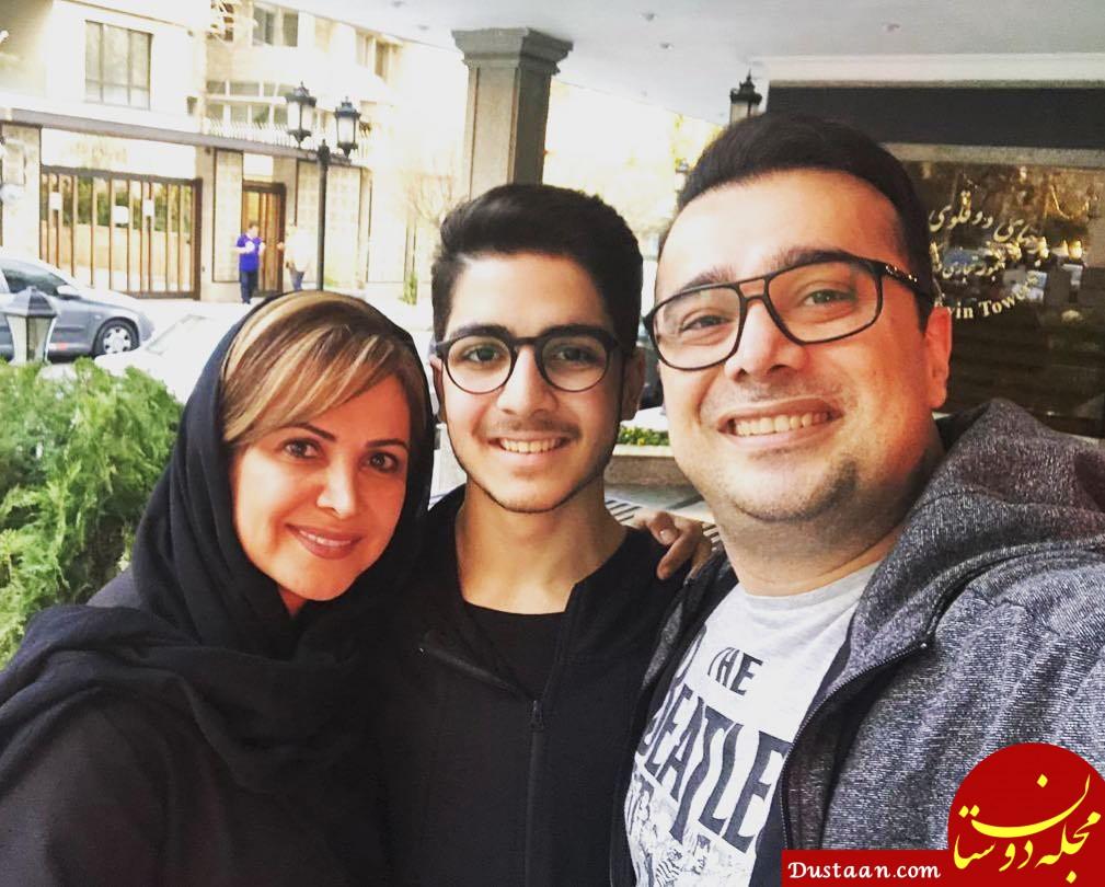 www.dustaan.com بیوگرافی و عکس های دیدنی کمند امیرسلیمانی همسر و پسرش ایلیا