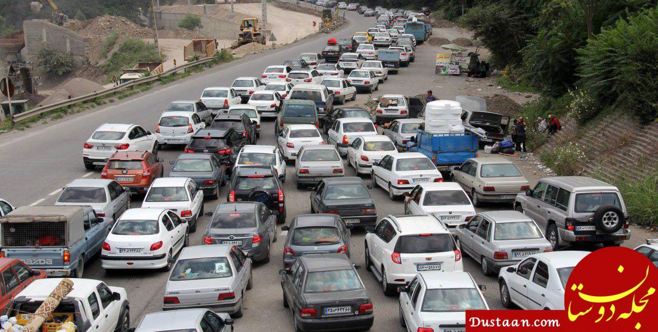 www.dustaan.com آخرین وضعیت راهها و محورهای مواصلاتی کشور / 17 خرداد