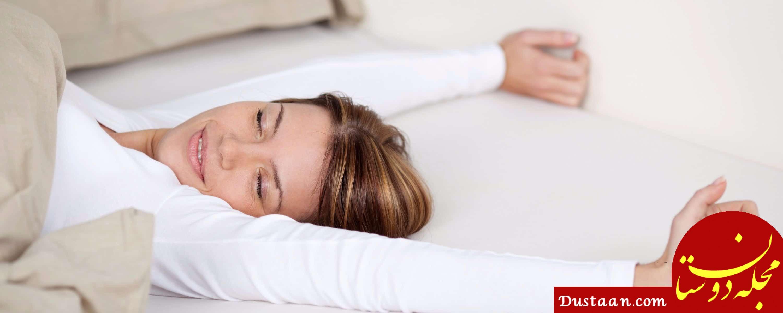 www.dustaan.com بهترین و بدترین طرز خوابیدن برای سلامتی