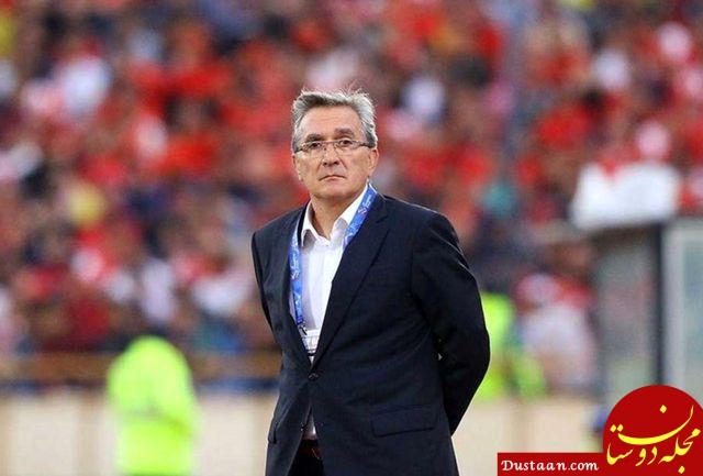 www.dustaan.com واکنش باشگاه پرسپولیس به مصاحبه برانکو