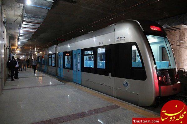 www.dustaan.com چاقو کشی هولناک در مترو مشهد
