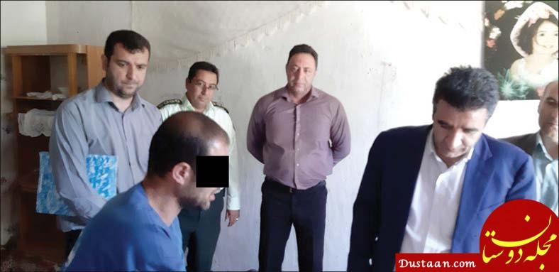 www.dustaan.com گفت و گو با قاتل سریالی : پاهایش را اره نکردم! +تصاویر