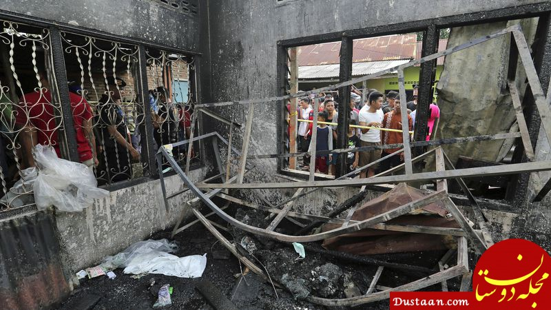 www.dustaan.com انفجار کارخانه کبریت سازی 30 کشته برجای گذاشت