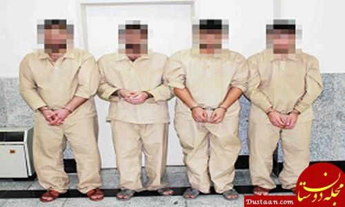 www.dustaan.com دستگیری چهار سارق اتوبوس های بی آر تی تهران