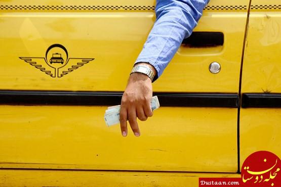 www.dustaan.com راننده تاکسی قربانی ترافیک تهران شد