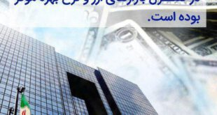 افزایش ۸ درصدی ارزش ریال ایران