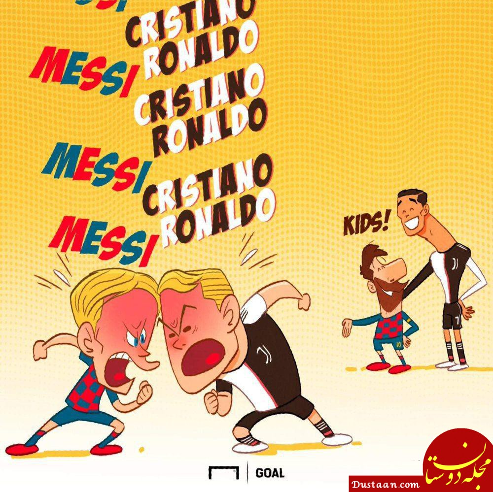 www.dustaan.com دعوای بچه گانه دو ستاره فوتبال! +عکس