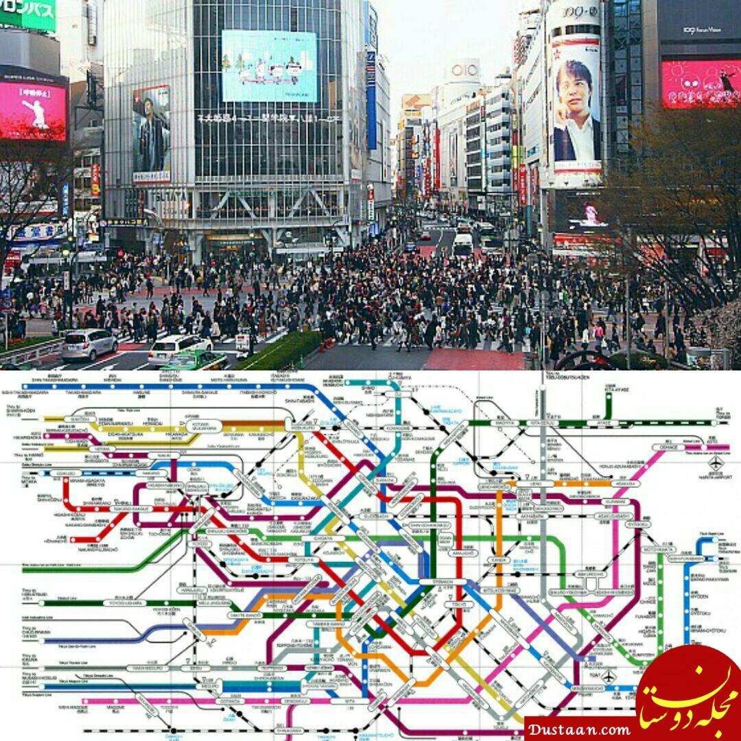 پرجمعیت ترین شهر جهان را بشناسید +عکس