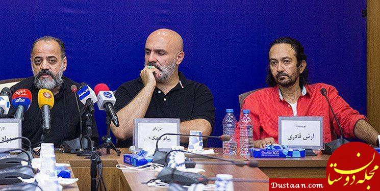 www.dustaan.com نویسنده «گاندو» سریال جدید می نویسد