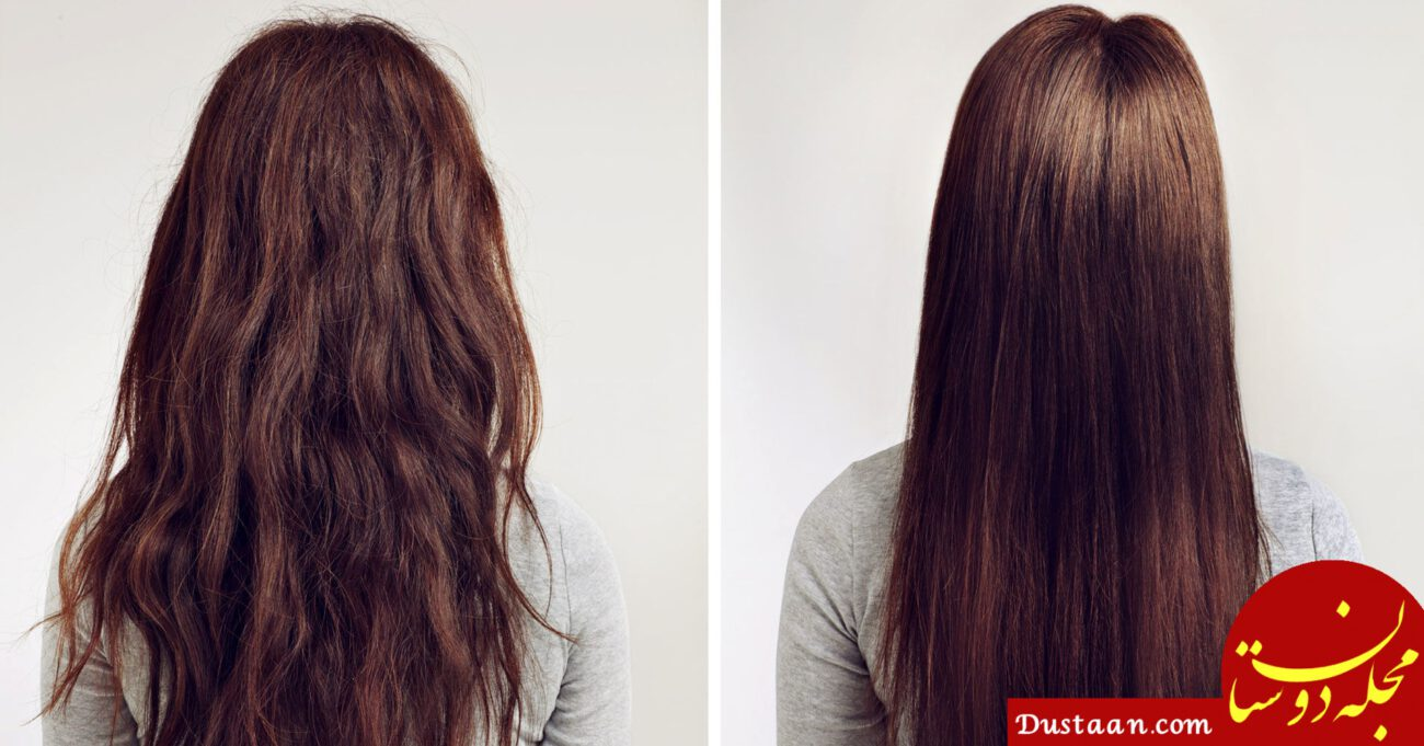 www.dustaan.com لخت کردن و صاف کردن مو بدون اتو