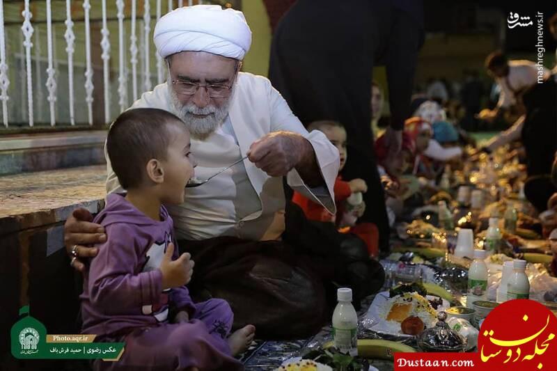 www.dustaan.com شام متفاوت تولیت آستان قدس +عکس