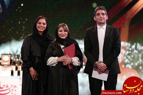 عکس های دیدنی بازیگران در مراسم جشن حافظ 98