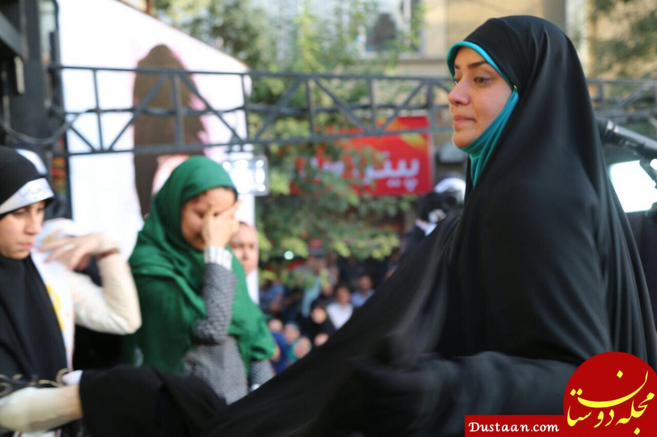 www.dustaan.com الهام چرخنده: از زمانی که چادری شدم 5 قراردادم لغو شد