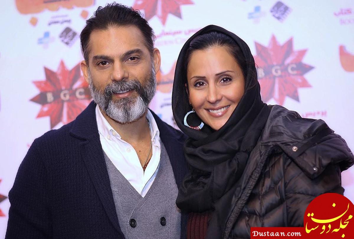 www.dustaan.com بیوگرافی و عکس های دیدنی پیمان معادی ، همسرش و دخترش باران