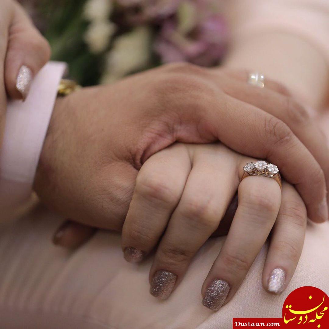 www.dustaan.com محیا اسناوندی ازدواج کرد +تصاویر