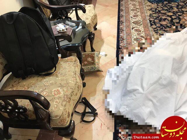 www.dustaan.com مرد 42 ساله پس از قتل همسرش، با پلیس تماس گرفت +عکس