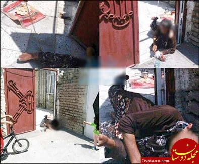 www.dustaan.com به زنجیر کشیده شدن مادری سالخورده ارومیه ای در منزل! +عکس