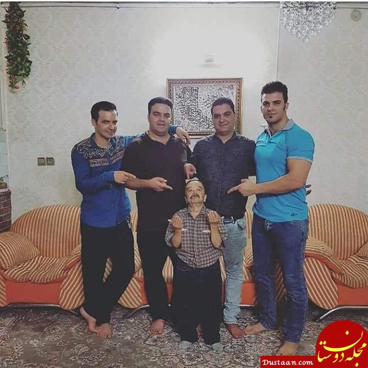 www.dustaan.com اسدالله یکتا عکس پسرانش را رو کرد! +عکس