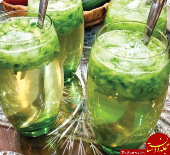 www.dustaan.com طرز تهیه 2 نوشیدنی خنک و مقوی برای تابستان