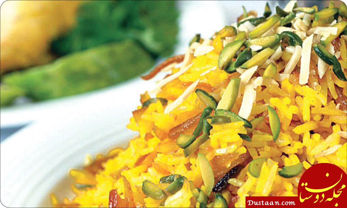 www.dustaan.com طرز تهیه شیرین پلو با مرغ ، بهترین غذا برای مهمانی ها و مجالس شادی