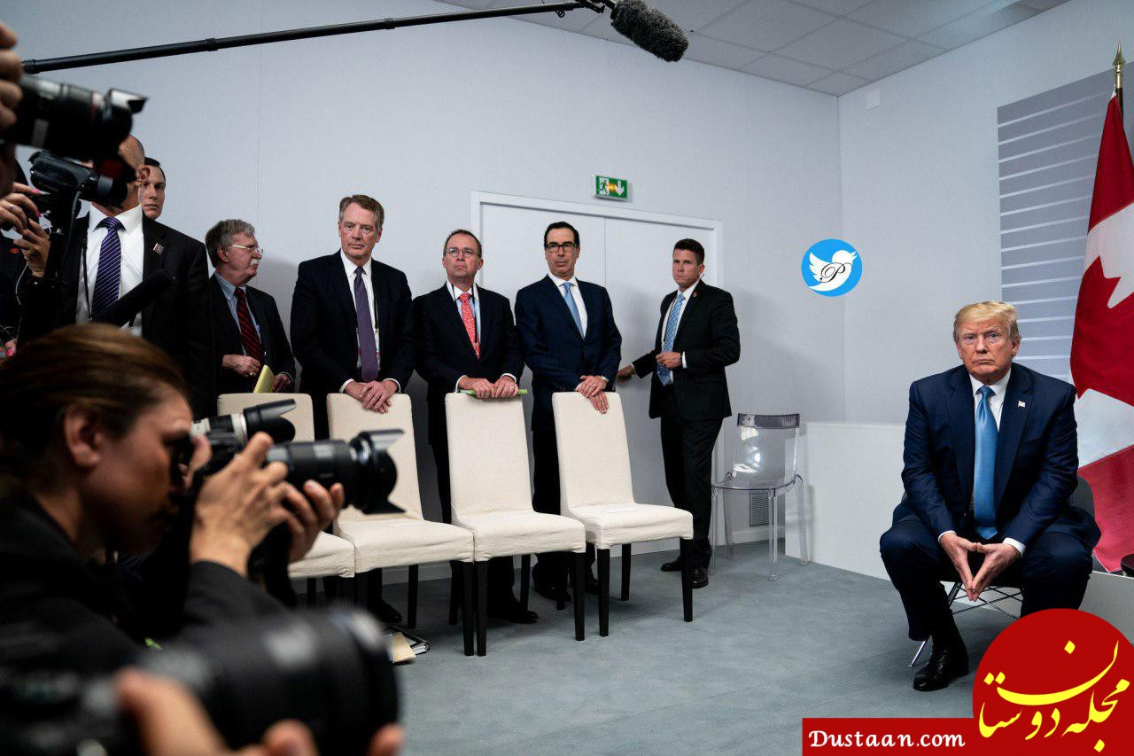 www.dustaan.com روایت واشنگتن پست از سفر غیر منتظره ظریف به فرانسه و اجلاس جی7