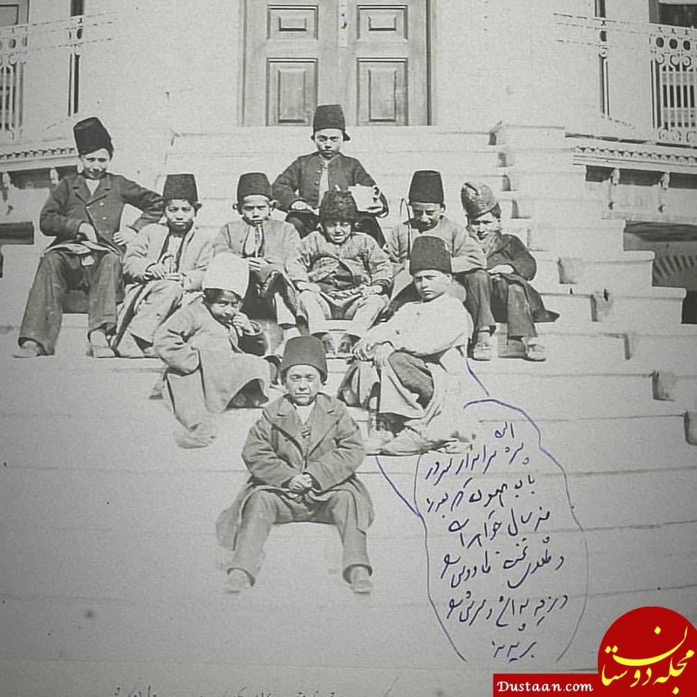 www.dustaan.com عاقبت دزدی از ناصرالدین شاه قاجار! +عکس