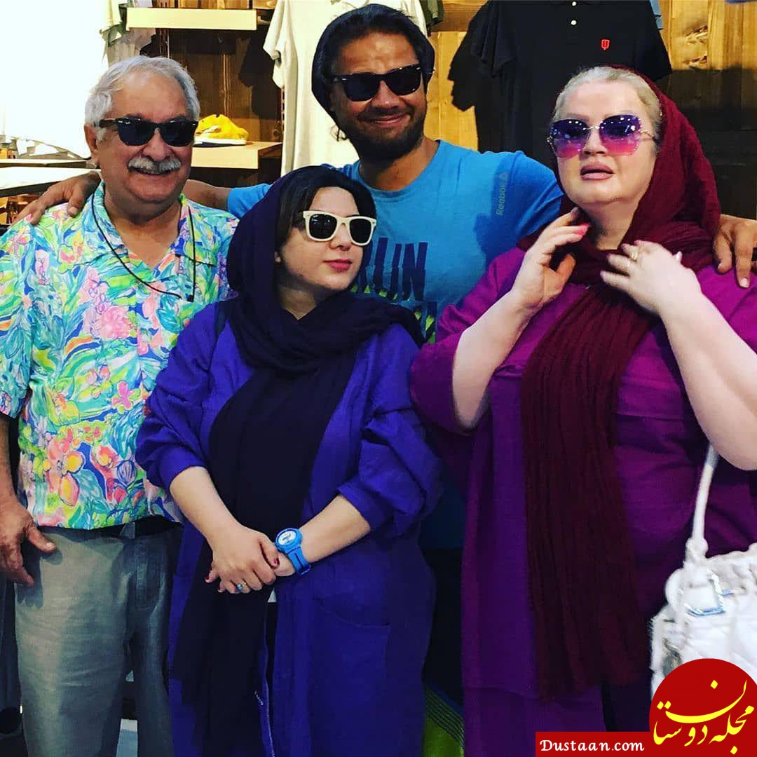 بیوگرافی و عکس های دیدنی علی صادقی و همسرش