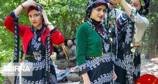 جشن چله تابستان روستای زردویی کرمانشاه +تصاویر