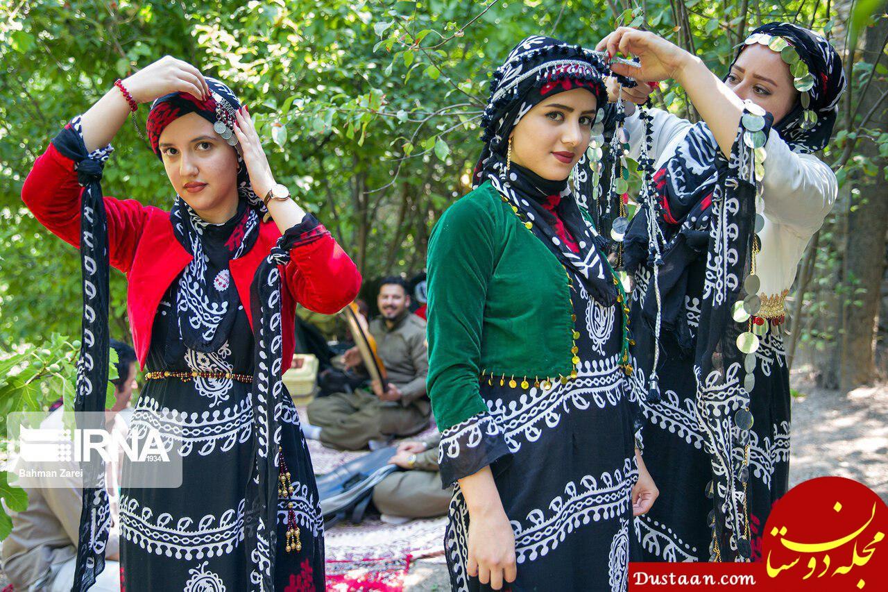 www.dustaan.com جشن چله تابستان روستای زردویی کرمانشاه +تصاویر
