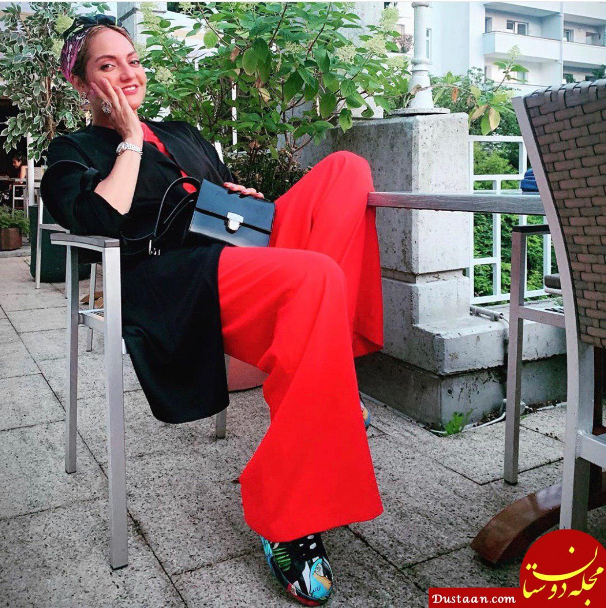 www.dustaan.com مهناز افشار به ایران بیاید بازداشت می شود!