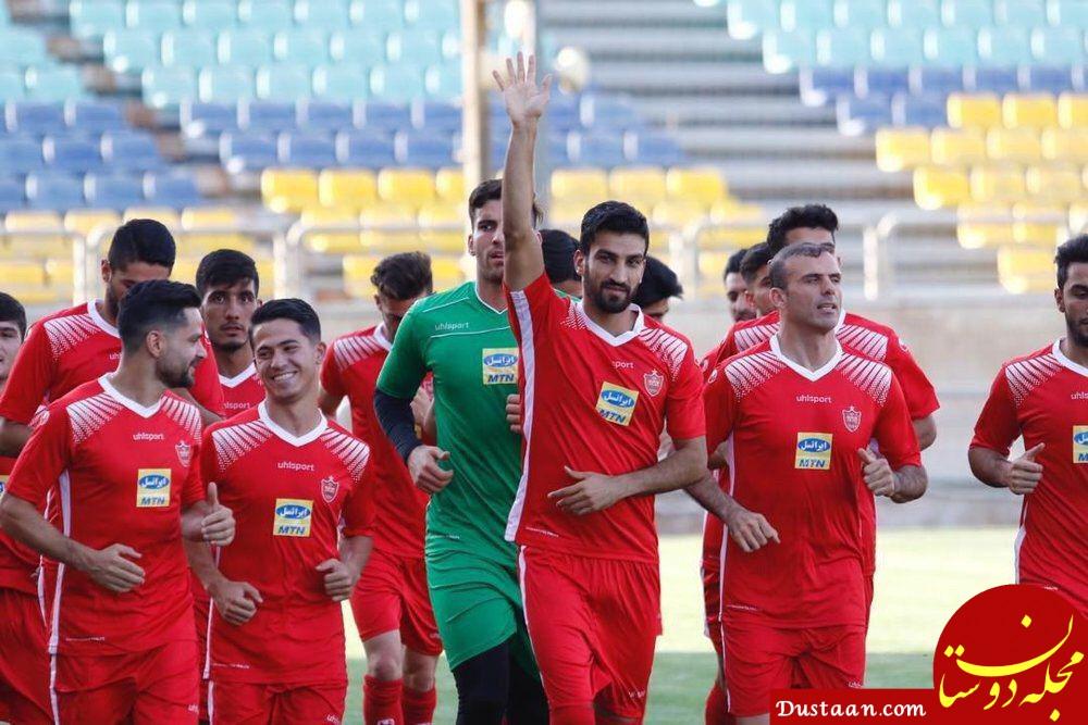www.dustaan.com بازیکنان ثابت سابق، نیمکت نشینان فعلی کالدرون در پرسپولیس!