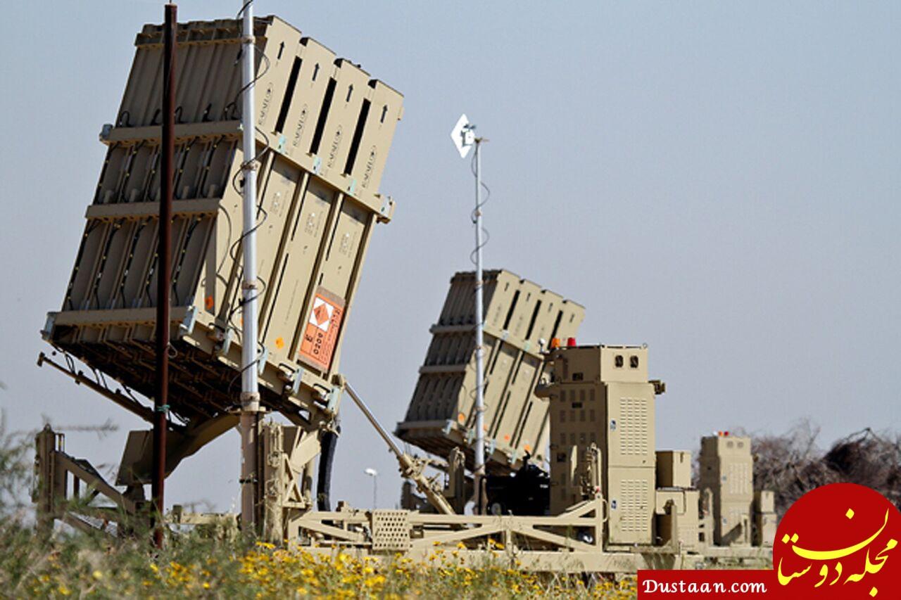 www.dustaan.com سامانه گنبد آهنین رژیم صهیونیستی سرطان زاست!