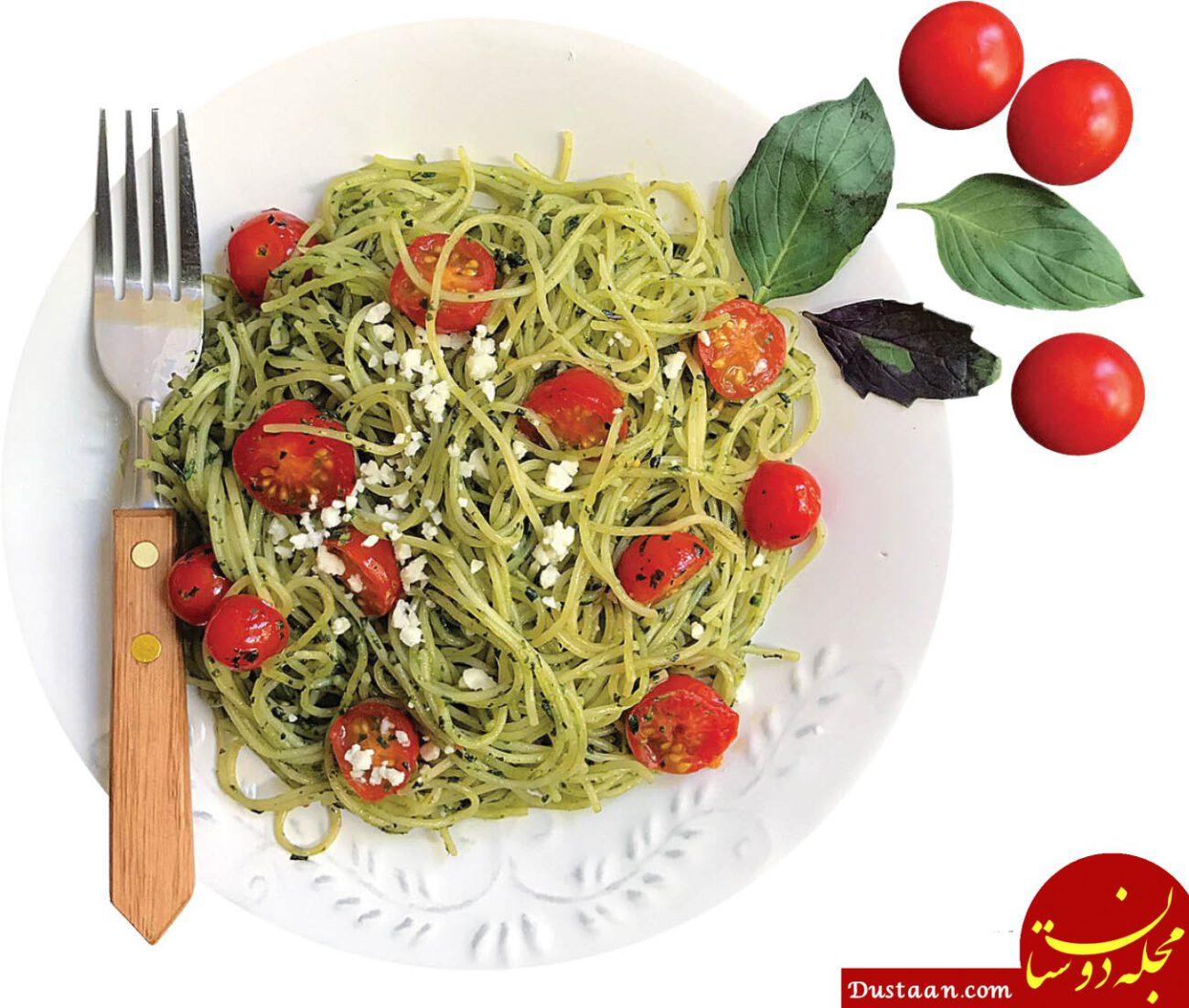 www.dustaan.com خوردن پاستا بدون افزایش وزن!