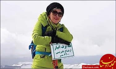 www.dustaan.com پیدا شدن پیکر بی جان زن کوهنورد مفقود شده در دماوند