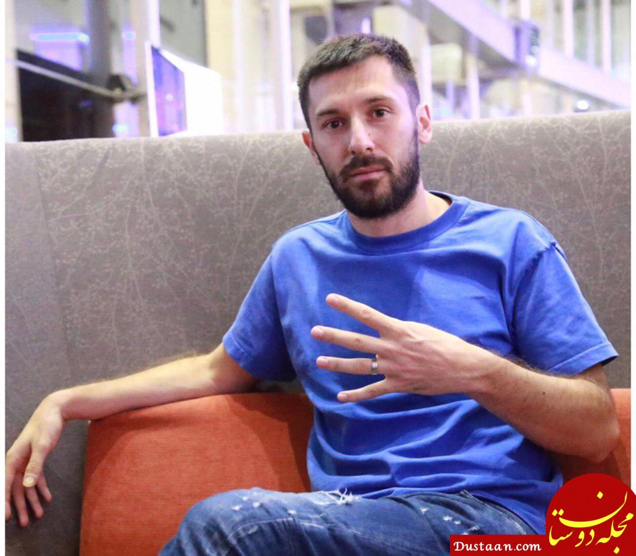 www.dustaan.com هروویه میلیچ وارد تهران شد