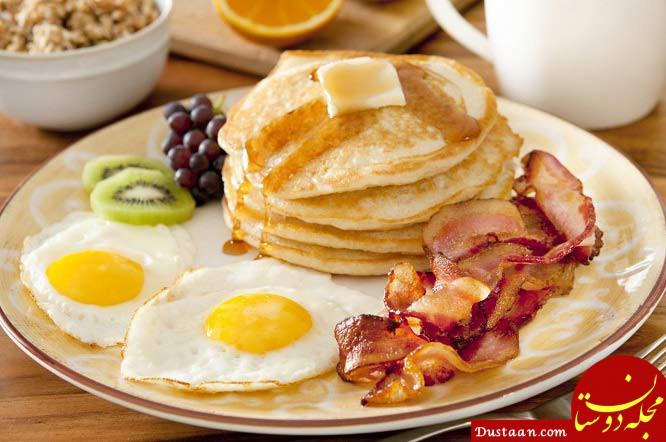 www.dustaan.com عوارض و مضرات صبحانه نخوردن را بهتر بشناسید
